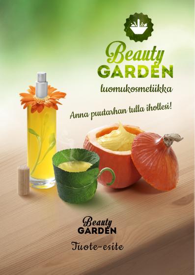Beauty Garden tuote-esite