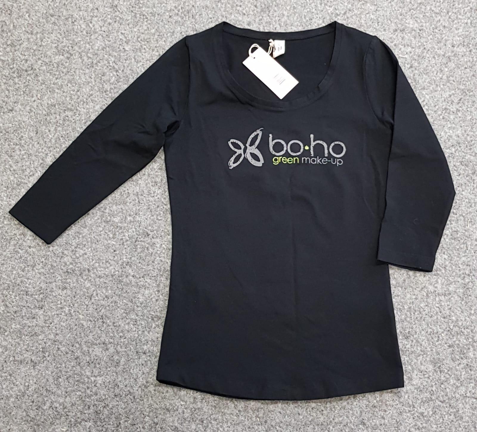 BOHO PAITA Slim FIT - 3/4 hiha, Logo edessä ja takana